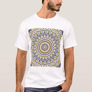 Kaleidoscope Mandala in Portugal: Pattern 224.7 T-Shirt