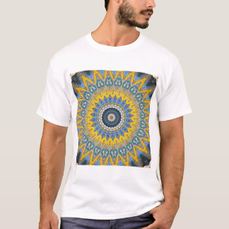 Kaleidoscope Mandala in Portugal: Pattern 224.8 T-Shirt