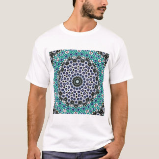 Kaleidoscope Mandala in Portugal: Pattern 224.9 T-Shirt