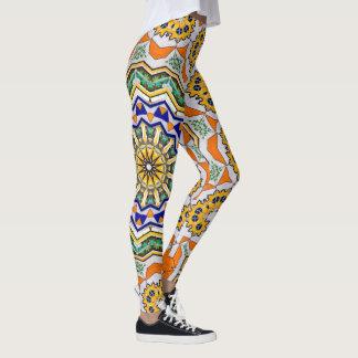 Kaleidoscope Mandala in Portugal: Pattern 232.1 Leggings