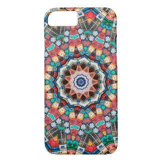 Kaleidoscope Mandala in Slovenia: Pattern 213.3 iPhone 8/7 Case