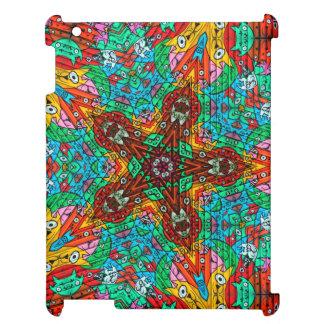 Kaleidoscope Mandala in Slovenia: Pattern 213.4 iPad Case
