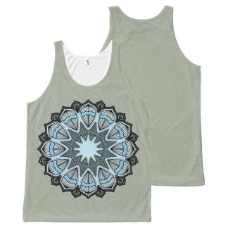 Kaleidoscope Mandala Tank Top All-Over Print Tank Top