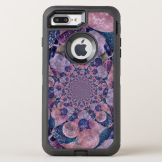 Kaleidoscope Muted Purple, Blue And Pink Balloons OtterBox Defender iPhone 8 Plus/7 Plus Case