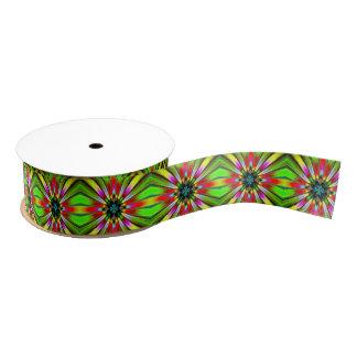 Kaleidoscope of Brightness Grosgrain Ribbon