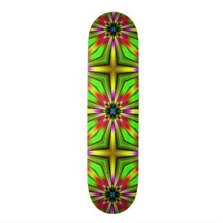 Kaleidoscope of Color Design Custom Skateboard