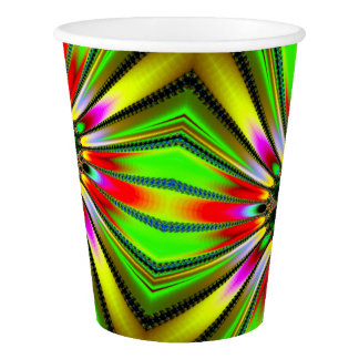 Kaleidoscope of Color Paper Cup