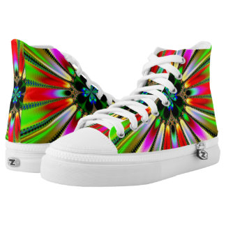Kaleidoscope of Color Printed Shoes