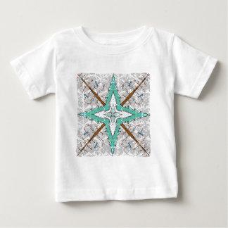 Kaleidoscope of winter trees baby T-Shirt