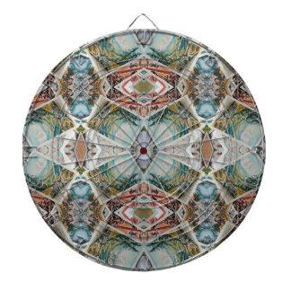 kaleidoscope pattern dartboard