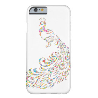 Kaleidoscope Peacock Barely There iPhone 6 Case