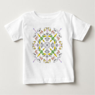 Kaleidoscope rabbits baby T-Shirt