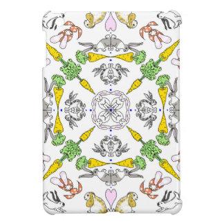 Kaleidoscope rabbits iPad mini cover