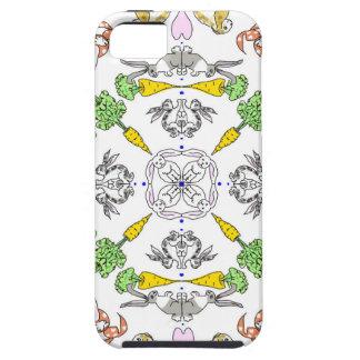 Kaleidoscope rabbits iPhone 5 cover