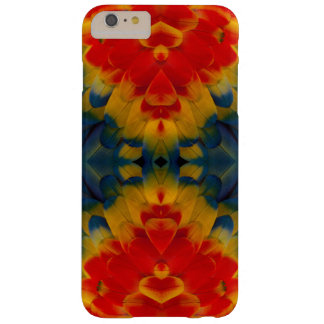 Kaleidoscope Scarlet Macaw design Barely There iPhone 6 Plus Case