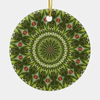 Kaleidoscope series - Crab apple 1 Ornament