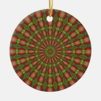 Kaleidoscope series - Crab apple 3 Ornament