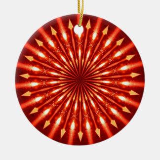 Kaleidoscope series - Flaming Arrows Ornaments