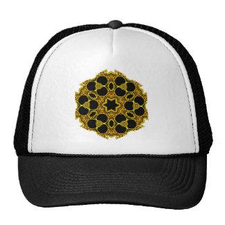 Kaleidoscope Skull Mandalas Mesh Hat