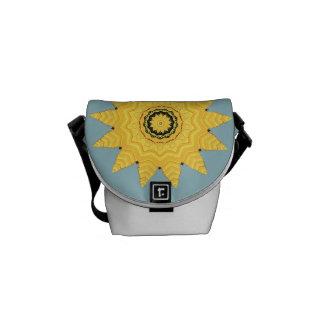 Kaleidoscope Sun, Sea and Sky Bag Courier Bag