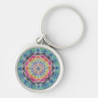 Kaleidoscope Tie-Dye Key Chain