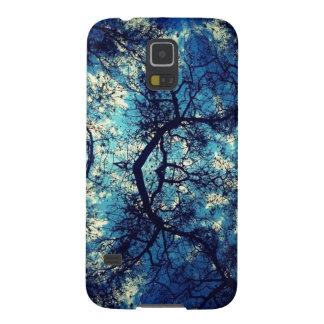 Kaleidoscope Trees Sky Galaxy S5 Case