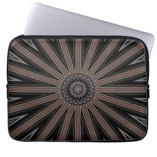"Kaleidoscope Wheel Pattern 13"" Electronics Bag Laptop Sleeves"