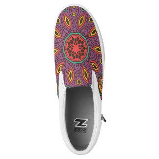 Kaleidoscope Yoga Pattern Printed Shoes