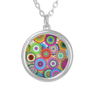 kaleidoscopes colorful Pattern design Custom Jewelry