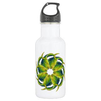 Kaleidoscopic Dolphinfish Water Bottle