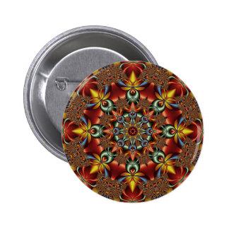 Kaleidoscopic fantasy pins