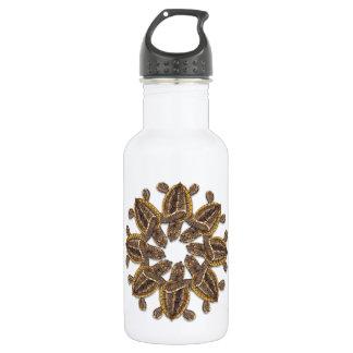 Kaleidoscopic Loggerhead Sea Turtle Water Bottle 532 Ml Water Bottle