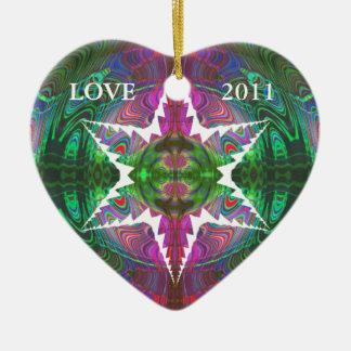 Kaleidoscopic Marbleized Effect Ornament.1