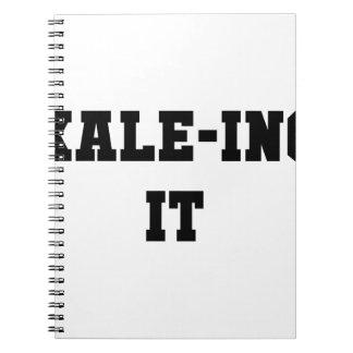 Kaleing It Spiral Notebook