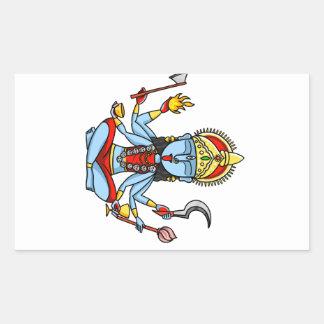 Kali Rectangular Sticker