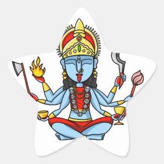 Kali Star Sticker