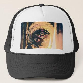 Kali the dark mother trucker hat