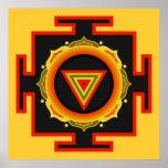 Kali Yantra Poster