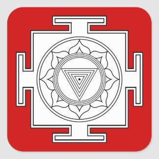 Kali Yantra Stickers