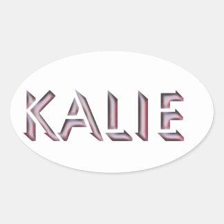 Kalie sticker name