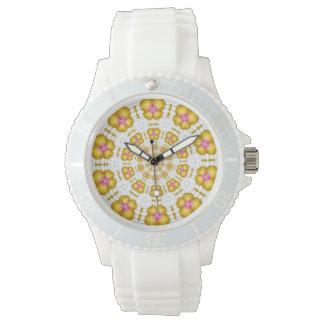Kaliedoscope Design Wrist Watch