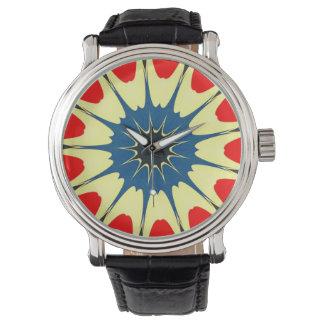 Kaliedoscope Design Wrist Watches