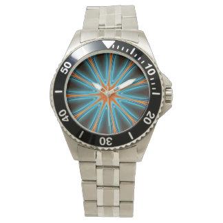 Kaliedoscope Design Wristwatch