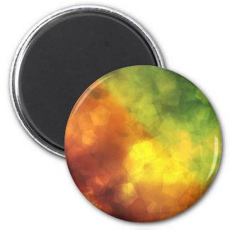 Kaliedoscope Urban Hippie 6 Cm Round Magnet