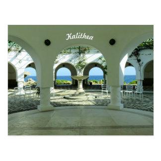 Kalithea Springs  Rhodes Postcard -2