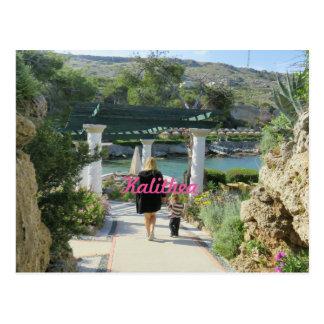 Kalithea Springs Rhodes Postcard -3