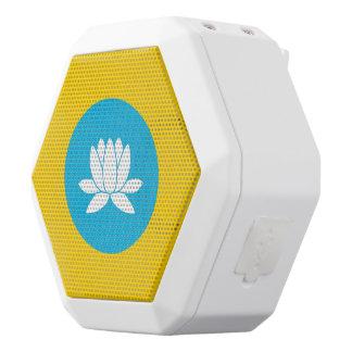 Kalmykia Flag White Bluetooth Speaker