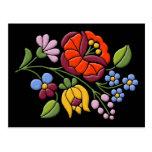 Kalocsa Embroidery - Hungarian Folk Art