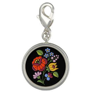 Kalocsa Embroidery - Hungarian Folk Art motif