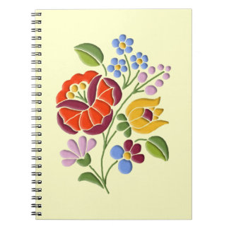 Kalocsa Embroidery - Hungarian Folk Art Notebooks